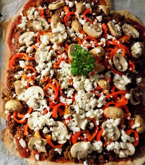 pizzadeg på bovetemjöl